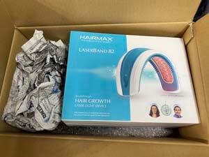 Hairmax LaserBand 82 ヘアマックス レーザーバンド82の梱包