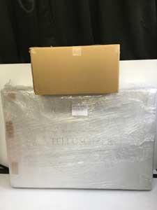 EAUZAURA オーゾラ テルスガイザーの梱包